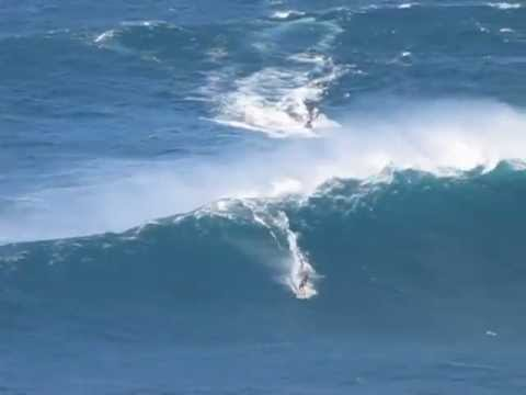 Video: Surfing Jaws, Maui Part 2 – January 2011