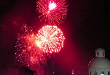 Video: New Year's Fireworks Puerto Vallarta