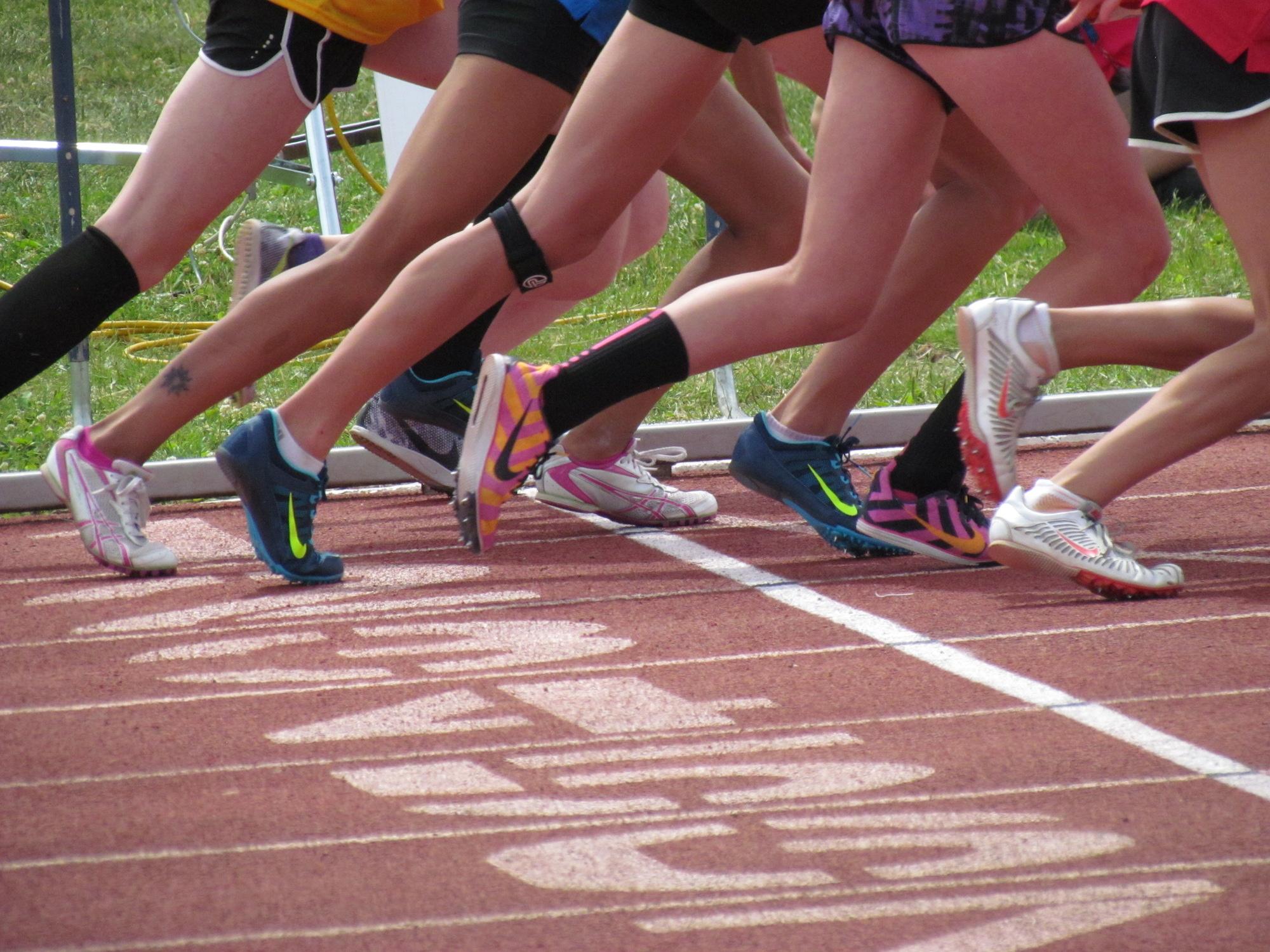 Racing Start Line Legs