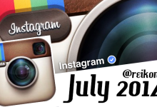 Instagram Review Reikonita July 2014