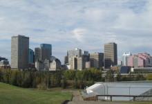 Downtown Edmonton View