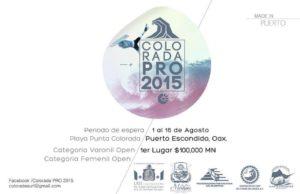 Colorada Pro 2015 | Puerto Escondido