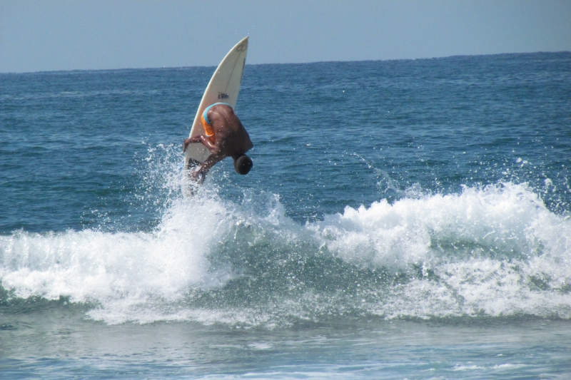 Sayulita Surfer in the air